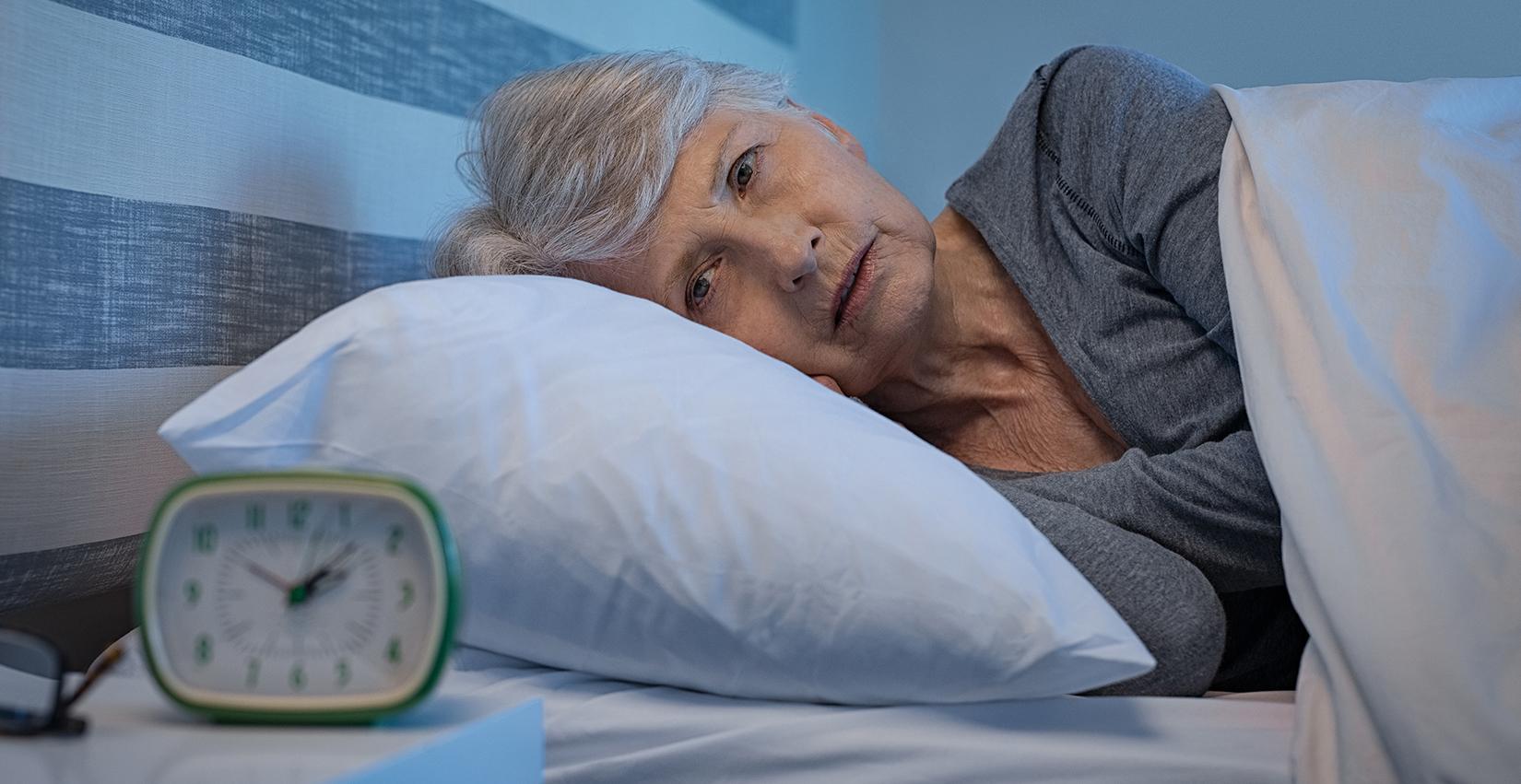 Zu wenig Schlaf erhöht Demenzrisiko